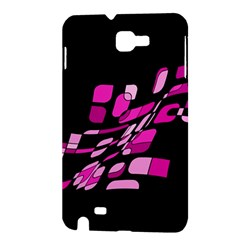 Purple abstraction Samsung Galaxy Note 1 Hardshell Case