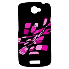 Purple abstraction HTC One S Hardshell Case