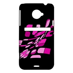 Purple abstraction HTC Evo 4G LTE Hardshell Case