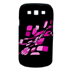 Purple abstraction Samsung Galaxy S III Classic Hardshell Case (PC+Silicone)