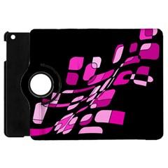 Purple abstraction Apple iPad Mini Flip 360 Case