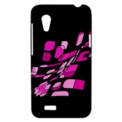 Purple abstraction HTC Desire VT (T328T) Hardshell Case