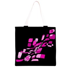 Purple abstraction Grocery Light Tote Bag