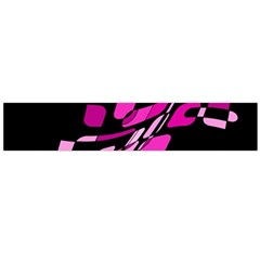 Purple abstraction Flano Scarf (Large)