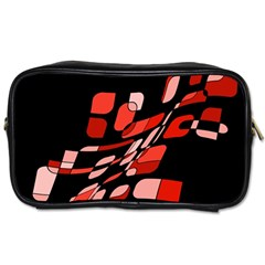Orange abstraction Toiletries Bags 2-Side
