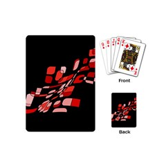 Orange abstraction Playing Cards (Mini)