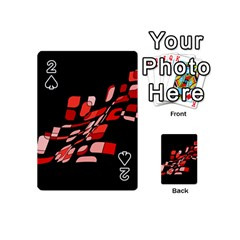 Orange abstraction Playing Cards 54 (Mini)