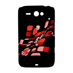 Orange abstraction HTC ChaCha / HTC Status Hardshell Case