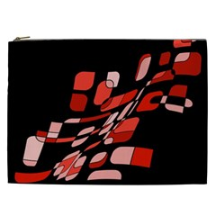 Orange abstraction Cosmetic Bag (XXL)