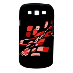 Orange abstraction Samsung Galaxy S III Classic Hardshell Case (PC+Silicone)