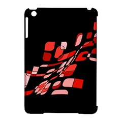 Orange abstraction Apple iPad Mini Hardshell Case (Compatible with Smart Cover)