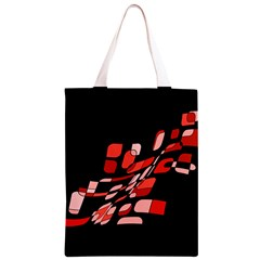 Orange abstraction Classic Light Tote Bag