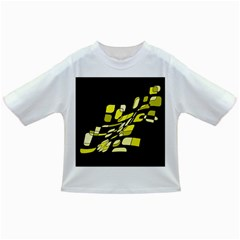 Yellow abstraction Infant/Toddler T-Shirts