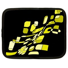 Yellow abstraction Netbook Case (XXL)