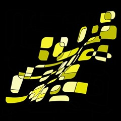 Yellow abstraction Magic Photo Cubes