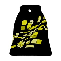 Yellow abstraction Ornament (Bell)