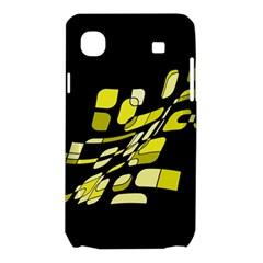 Yellow abstraction Samsung Galaxy SL i9003 Hardshell Case
