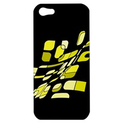 Yellow abstraction Apple iPhone 5 Hardshell Case