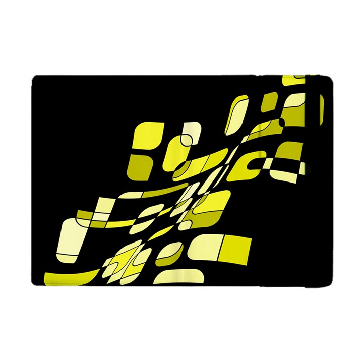 Yellow abstraction Apple iPad Mini Flip Case