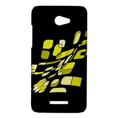 Yellow abstraction HTC Butterfly X920E Hardshell Case
