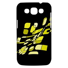 Yellow abstraction Samsung Galaxy Win I8550 Hardshell Case