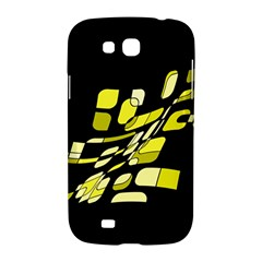 Yellow abstraction Samsung Galaxy Grand GT-I9128 Hardshell Case