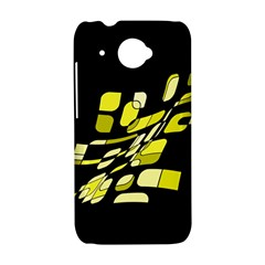 Yellow abstraction HTC Desire 601 Hardshell Case