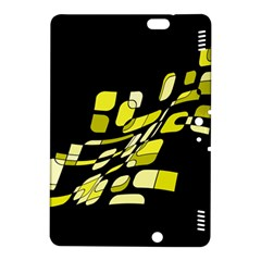 Yellow abstraction Kindle Fire HDX 8.9  Hardshell Case