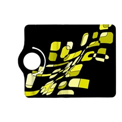 Yellow abstraction Kindle Fire HD (2013) Flip 360 Case