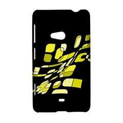 Yellow abstraction Nokia Lumia 625