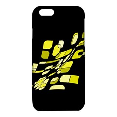 Yellow abstraction iPhone 6/6S TPU Case