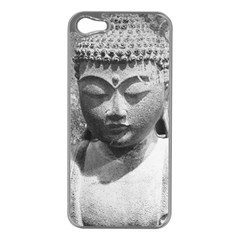 Buddha Apple iPhone 5 Case (Silver)