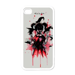 This Is Fine...  Apple iPhone 4 Case (White)