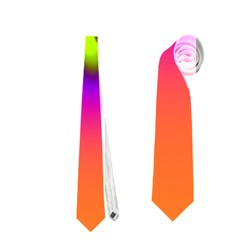 Creation Of Color Neckties (one Side)