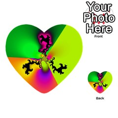 Creation Of Color Multi-purpose Cards (Heart)