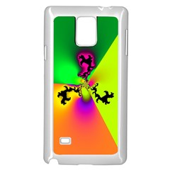 Creation Of Color Samsung Galaxy Note 4 Case (White)