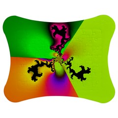 Creation Of Color Jigsaw Puzzle Photo Stand (bow)