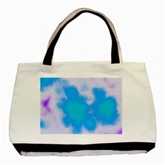 Blue And Purple Clouds Basic Tote Bag