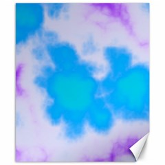 Blue And Purple Clouds Canvas 8  x 10