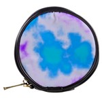 Blue And Purple Clouds Mini Makeup Bags Back