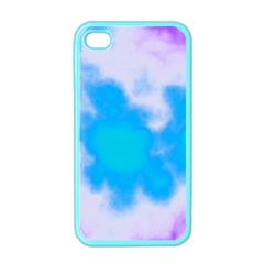 Blue And Purple Clouds Apple iPhone 4 Case (Color)