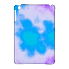 Blue And Purple Clouds Apple iPad Mini Hardshell Case (Compatible with Smart Cover)