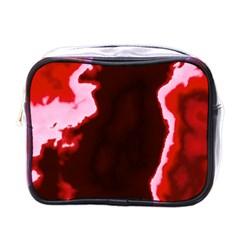 crimson sky Mini Toiletries Bags