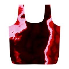 crimson sky Full Print Recycle Bags (L)