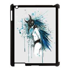 Caged Bird Apple iPad 3/4 Case (Black)