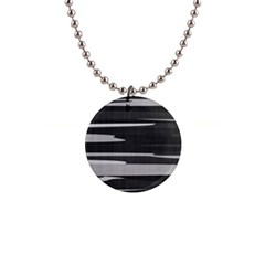 Gray Camouflage Button Necklaces