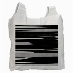 Gray Camouflage Recycle Bag (One Side)