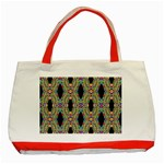 Shape Classic Tote Bag (Red) Front