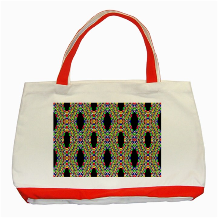 Shape Classic Tote Bag (Red)