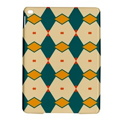 Blue yellow rhombus pattern                                                                                 			Apple iPad Air 2 Hardshell Case